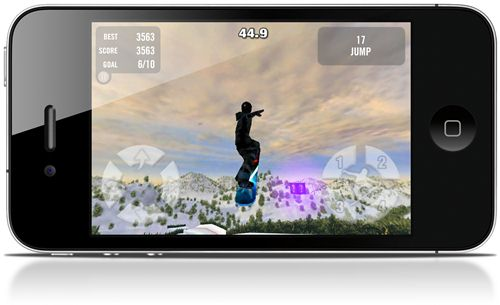 Crazy Snowboard - Imagem 3 do software