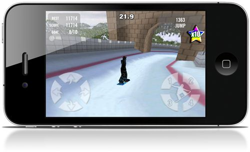 Crazy Snowboard - Imagem 4 do software