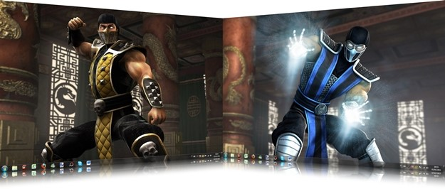 Mortal Kombat Windows 7 Theme