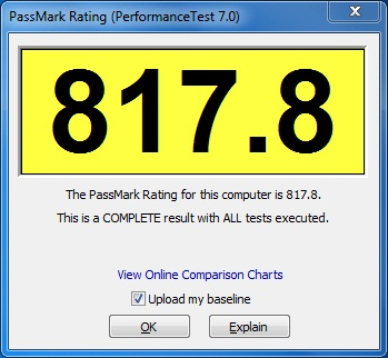 PassMark Performance Test - Imagem 2 do software