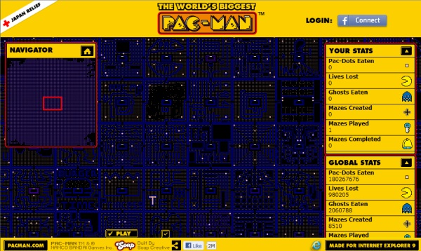 World´s Biggest Pacman - Imagem 1 do software