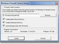 Imagem 4 do Windows Firewall Control