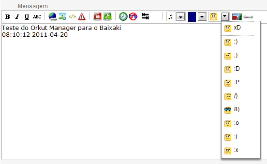 Orkut Manager para Google Chrome - Imagem 3 do software