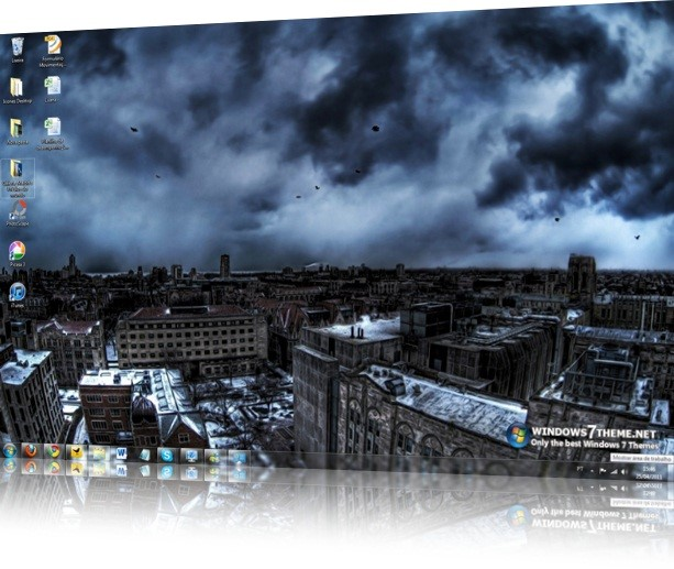 Storm Windows 7 Theme with sound effect