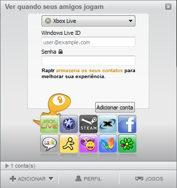 Raptr - Imagem 3 do software