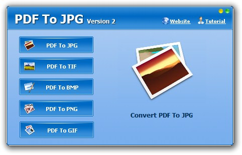 PDF To JPG - Imagem 1 do software