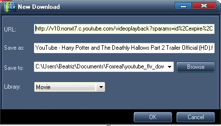 how to download flv from youtube