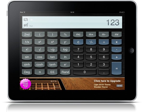 Calculator for iPad Free - Imagem 1 do software