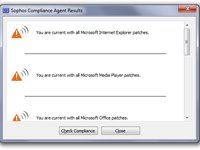 Imagem 1 do Sophos Endpoint Assessment Test