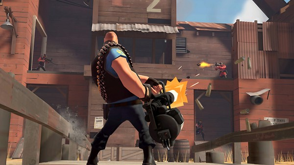 Team Fortress 2: Mann vs. Machine.