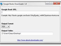 Imagem 1 do Google Books Downloader