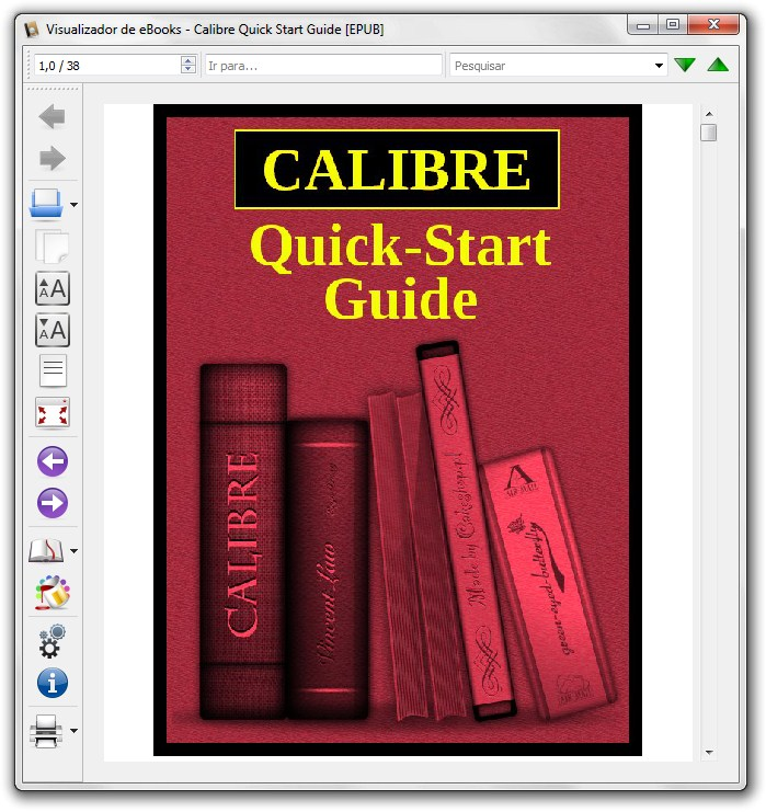 Calibre Portable - Imagem 2 do software