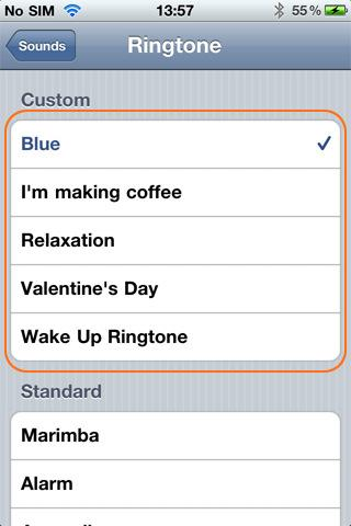 Ringtone+ - Imagem 2 do software