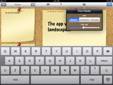 Notepad for iPad - Imagem 1 do software