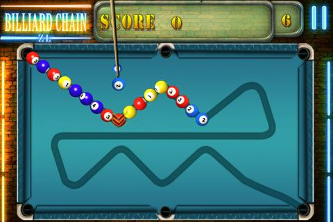 Billiard Chain - Imagem 1 do software