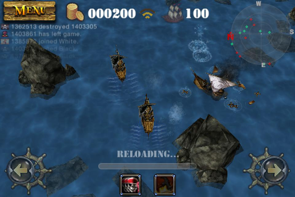 Pirates 3D Cannon Master - Imagem 1 do software