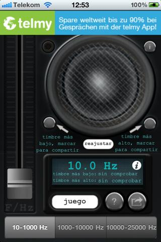 Tone generator - Imagem 1 do software