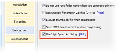 High Speed Archiving
