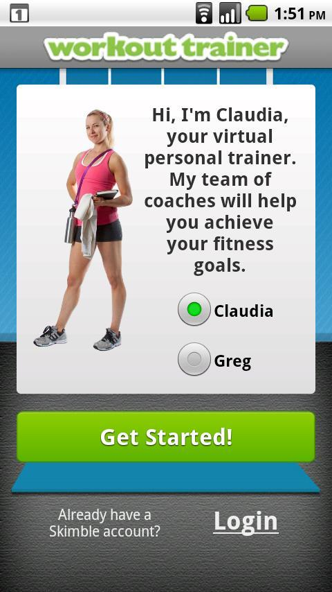 Workout Trainer - Imagem 1 do software
