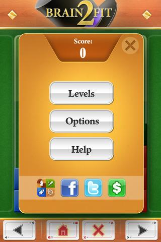 Brain Fit 2 - Imagem 2 do software