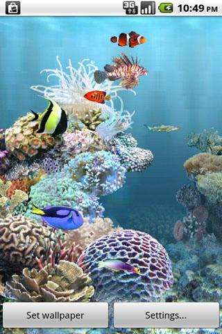 aniPet Aquarium Live Wallpaper - Imagem 1 do software