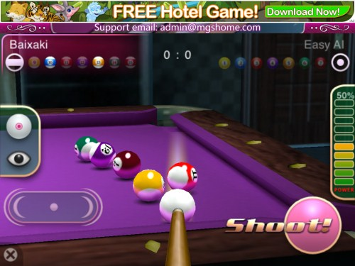 3D Pool Master Pro - Imagem 2 do software
