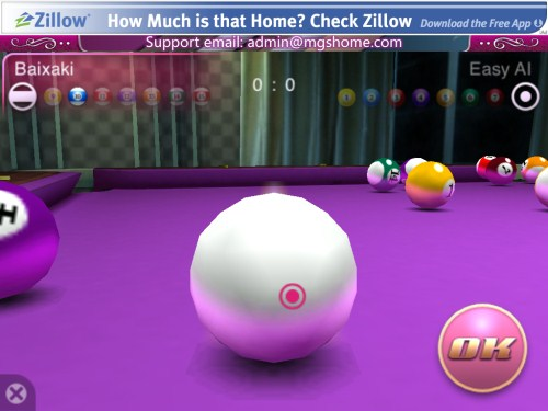 3D Pool Master Pro - Imagem 3 do software