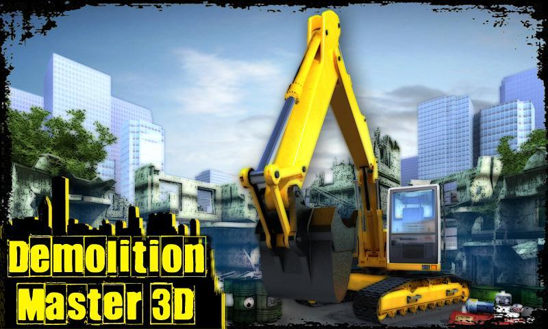 Demolition Master 3D Free - Imagem 1 do software