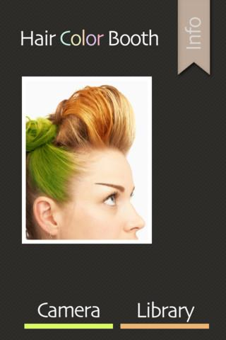 Hair Color Booth Free - Imagem 1 do software
