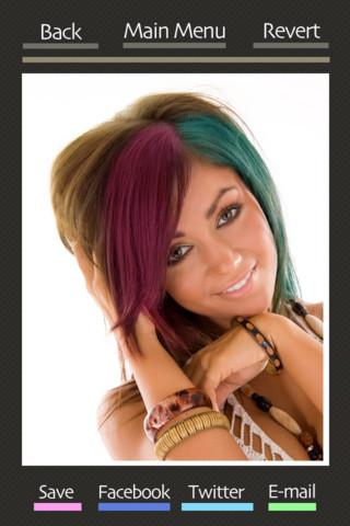 Hair Color Booth Free - Imagem 2 do software