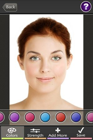 Hair Color Booth Free - Imagem 3 do software