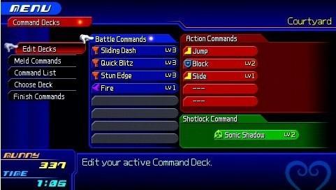 Organização do Command Deck