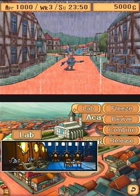 29 imagens para o jogo Monster Rancher DS (DS)