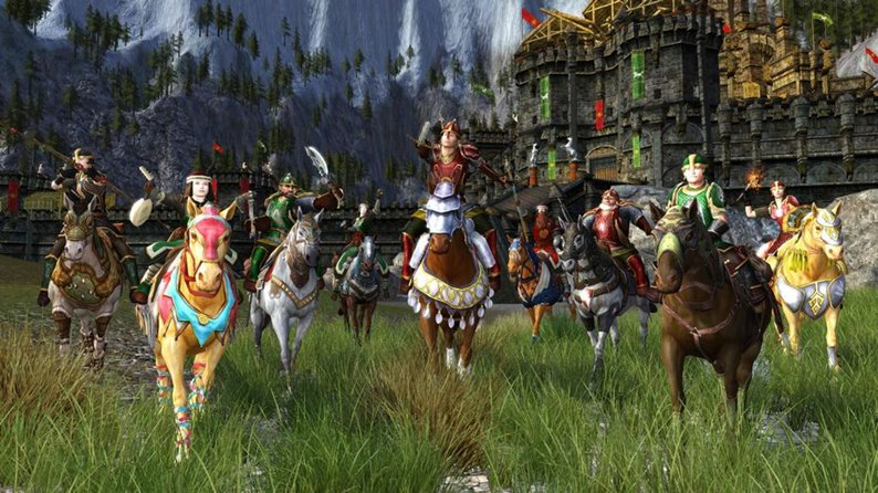 8 imagens para o jogo The Lord of the Rings Online - Helm's Deep (PC)
