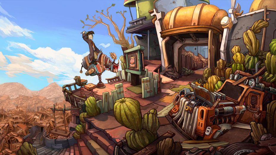 11 imagens para o jogo Goodbye Deponia (PC)