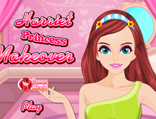 Harriet Princess Makeover