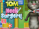 Talking Tom Neck Surgery