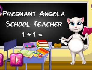 Pregnant Angela School Teacher