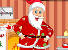 Santa Claus Accident Cleaning