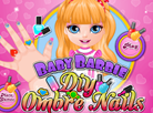 Baby Barbie DIY Ombre Nails