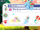 My Little Pony Facebook Post