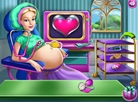 Sweet Princess Pregnant Check-up