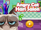 Angry Cat Hair Salon