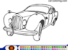 Coloring Book: Old Car Coloring