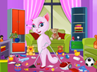 Talking Angela Room Clean Up