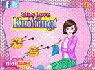 Girls Love Knitting