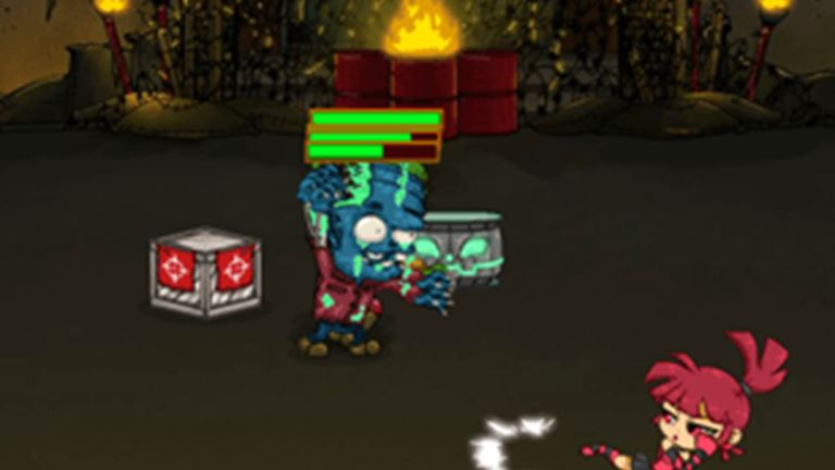 Imagem do jogo Zombies Eat My Stocking