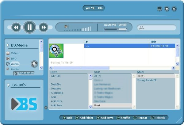 BSPlayer - Imagem 2 do software