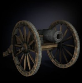 24-pounder Howitzer Foot Artillery