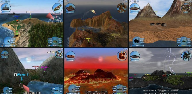 Scorched3D - Imagem 1 do software